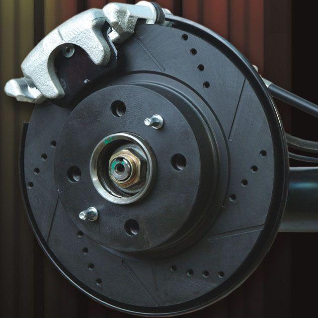 задних дисковых тормозов «