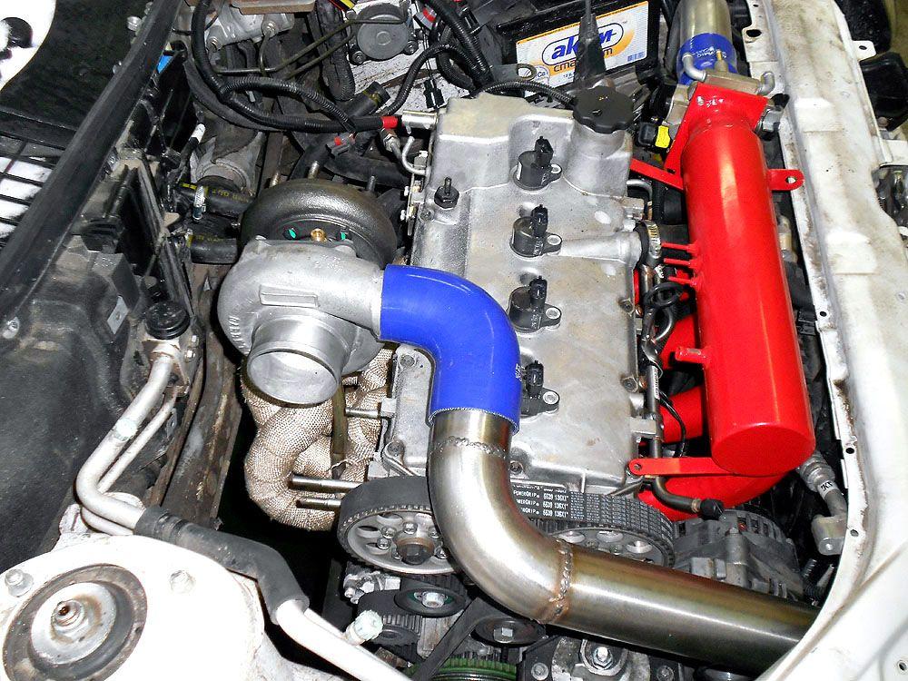 Как из атмосферного двигателя сделать турбированный