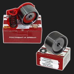 Ролик натяжной автоматический и опорный ролик ремня ГРМ РУСМАШ 16V ВАЗ 11194, 21126, 21127, 21129, 21179 (комплект)