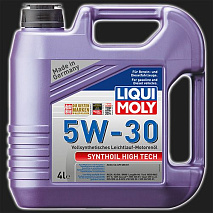 Масло моторное LIQUI MOLY Synthoil High Tech 5W-30 (4 л)