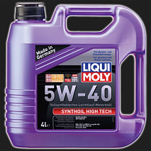 Масло моторное LIQUI MOLY Synthoil High Tech 5W-40 (4 л)