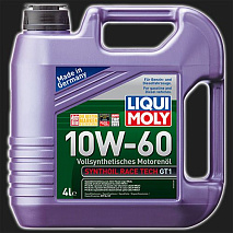 Масло моторное LIQUI MOLY Synthoil Race Tech GT1 10W-60 (4 л)