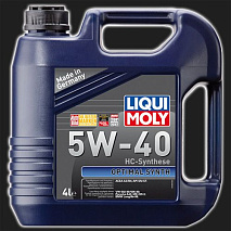 Масло моторное LIQUI MOLY Optimal HT Synth 5W-40 (4 л)